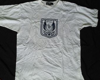 Vintage Polo Ralph Lauren Crest Logo Size L Polo 1992 Polo Sport