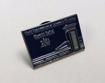 8   New lapel pin now available for Warwick Bethel.