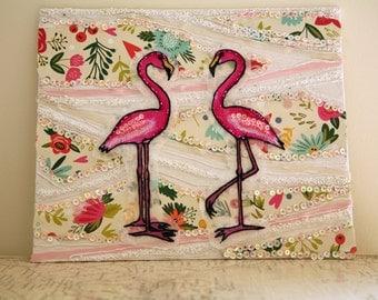 Beady Flamingo