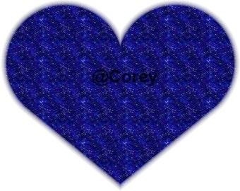 Dreamy Night Heart