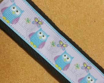 Owl Lanyard bagtag keychain