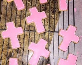 Cross Sugar cookies