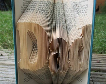 Dad Book Folding Gift perfect for fathers day