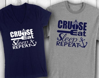 Couple's (2) Cruise shirts