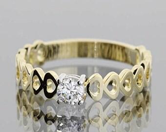 Engagement ring, Diamond ring, Gold engagement ring, Gold diamond ring, Pretty ring, Dainty ring, 14k engagement ring, 14k diamond ring