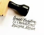Custom Address Stamp (Handwritten)
