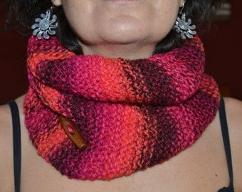 Wool scarf neck * handmade *