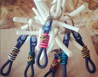 Keychain anchor-Anchor keychain-Keyring male-Keychain woman-gift original