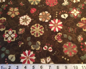 SALE! Mulberry Lane Mulled Ciderby Sue Beevers for Northcott 100 % Cotton Style 4644