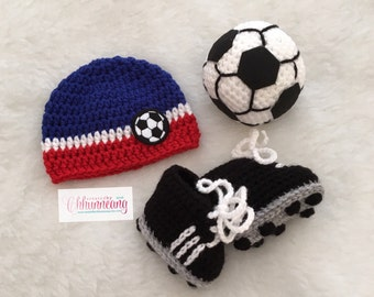 Baby Soccer Beanie, Hat, Made to Order