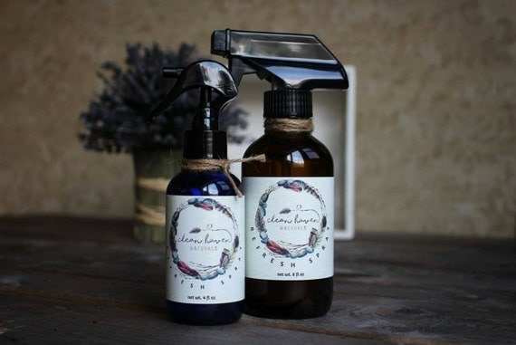 Natural bathroom spray air freshener by cleanhavennaturals - Natural air freshener for bathroom ...