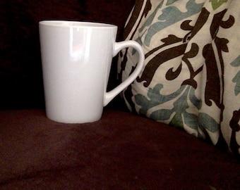CUSTOMIZABLE White Coffee Mug