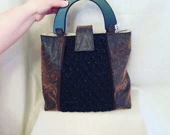 Brown On The Town Tote