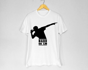 Dabb On 'Em T-Shirt - WHITE