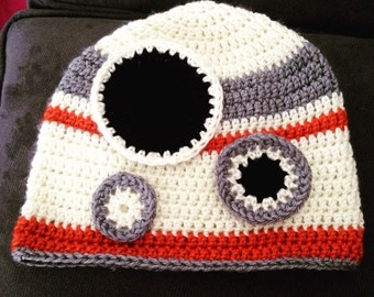 Star Wars Inspired Bb8 Droid Beanie Hat