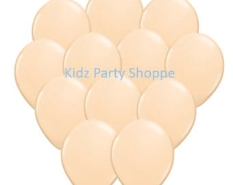 """Blush Balloons [12ct] 11"""" Latex Birthday Party Shower Decorations Backdrop Photo Prop Centerpiece Supply Supplies"""