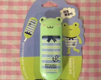 Kawaii Frog Correction Tape
