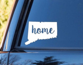 CT home decal