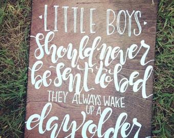 Peter Pan- little boys