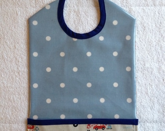 Bib waterproof with collector / oilclothe bib with pocket