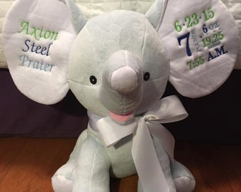 Baby Dumble Elephants perfect for birth announcements