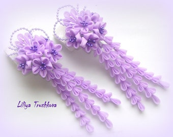 """Hairpins for hair """"Lilac tenderness"""""""