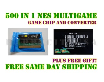 500 in 1 NES Nintendo Multi Game Chip