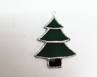 Christmas Tree ornaments, stained glass suncatcher, window sun catcher glass art, Window glassware, best selling items, Tree decorations,