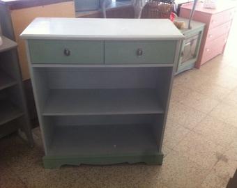 Two Drawer Shelf Unit 21