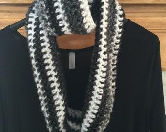 Sparkly soft infinity scarf