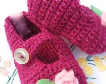 Baby girl slippers