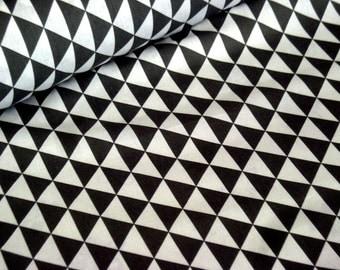 Cotton black triangles
