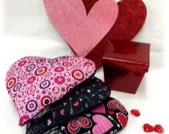 VALENTINE'S SPECIAL! Two Comfort Heart Pillows