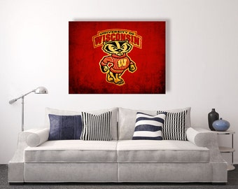 Wisconsin Badger Etsy
