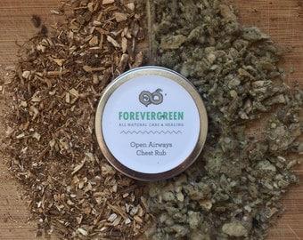 Chest Rub, Vapor Rub, Natural Chest Rub, Natural Vapor Rub, Eucalyptus, Rosemary, Peppermint