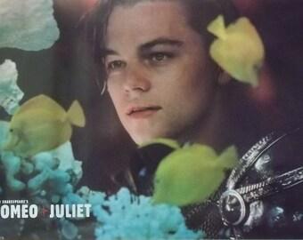 Romeo & Juliet 23x35 Aquarium Movie Poster 1997 Leonardo DiCaprio