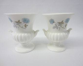 Pair of Small Wedgewood Urns