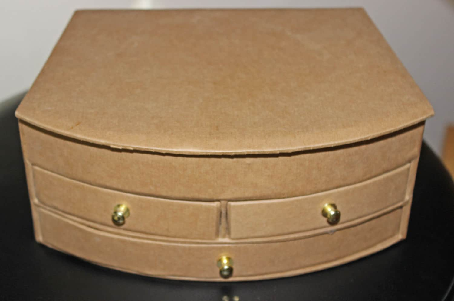 Paper Mache Jewelry Chest 3 Drawer Chest Home Decor Diy