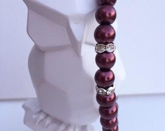 Burgundy Pearls