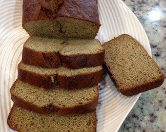 Whole wheat vegan banana bread