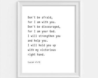Isaiah 41 Etsy