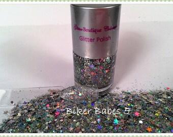 Biker Babe Glitter Polish