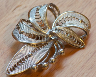 Stunning Silver Continental Brooch