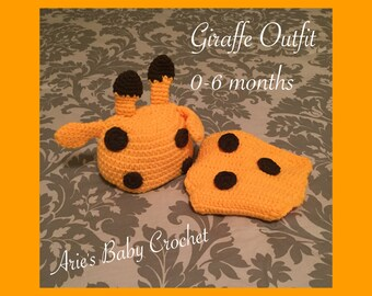 Crochet Giraffe Outfit