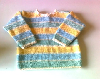 knitted spring multicolor - 18 months