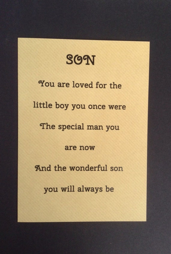 Special Th Birthday Cards For Son ~ Card for grown up son special sons birthday by