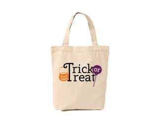 Personalized trick-or-treat bag
