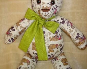 Mickey and Pluto Teddybear