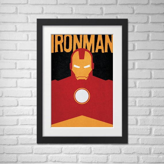 Ironman Poster - Illustration / Ironman Poster / Ironman