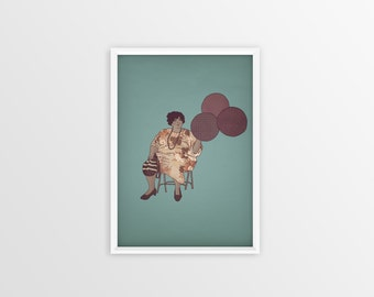 Fine Art Print - Digital Illustration